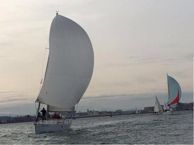 Rent a sailboat with skipper in Santander half day