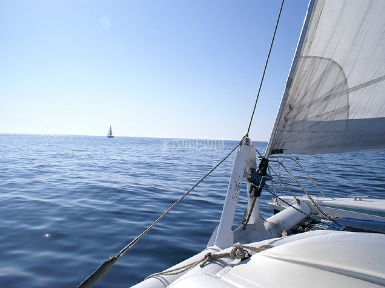 Enjoy on deck