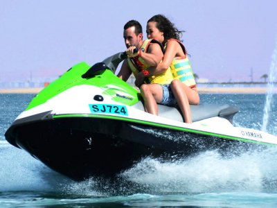 Jet ski rental Ocata beach Barcelona 1 hour