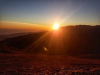 格拉纳达的日落