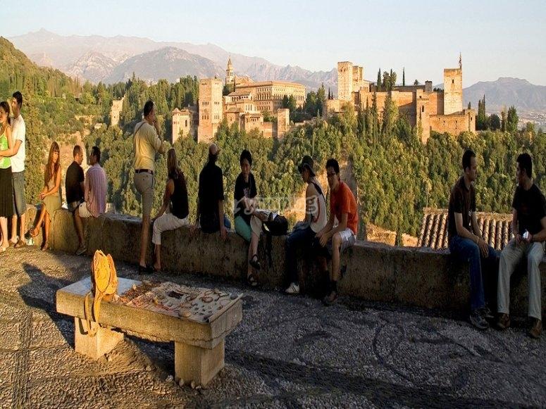 Punto panoramico di San Nicolás de Granada