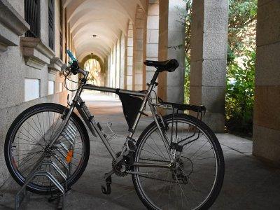 电动自行车路线通过格拉纳达的观点