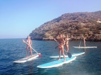 Guided paddle surf route in Mazarrón 2 hours
