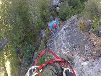 Castillo del Águila的铁索攀岩 在Gaucín K3