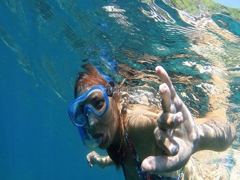 Snorkelling en la Costa de Granada
