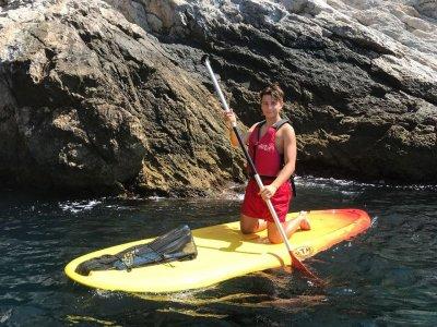 桨冲浪和浮潜路线Maro Cerro Gordo