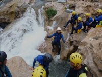 Canyoning in Chorreras del Cabriel for children