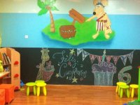 Parque infantil en Rivas