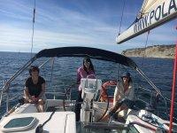 帆船帆船巴斯克海岸座椅