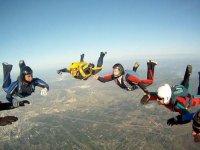 串联滑翔伞飞行