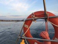 Salvavidas en el velero