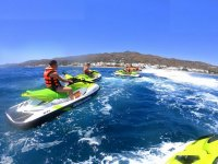 Two-seater jet ski route in Garrucha 40 min