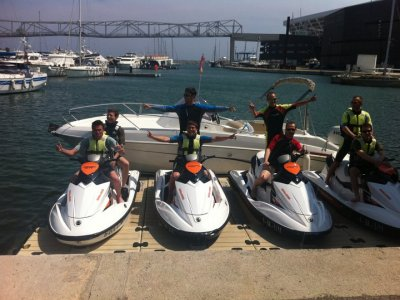 Barcelona Jet Ski Team Building