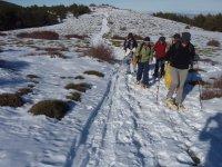 caminatas raquetas de nieve