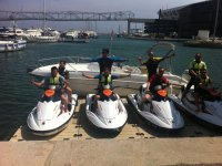 Jet skiing in the workplace