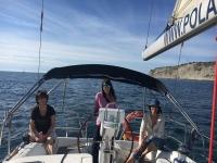 Dia soleado en el velero