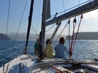 旅游的帆船-999对面的帆船帆船里面的船 - 看着太阳从船上下来