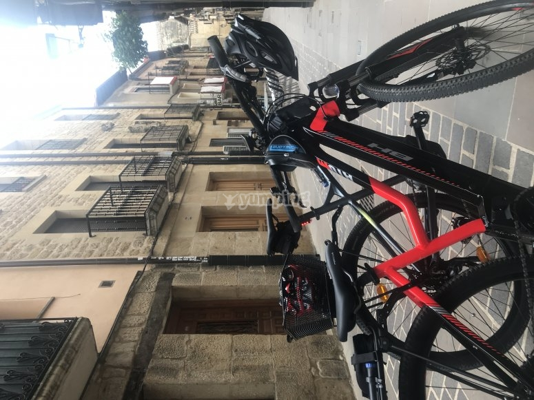 Paseo en mountain bike eléctrica por La Rioja