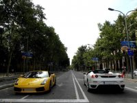 Supercars crossing
