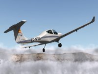 Diamond DA40 aircraft