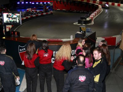 Indoor Karting Barcelona Team Building