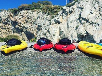 Alquiler de kayak individual en La Herradura 1 h
