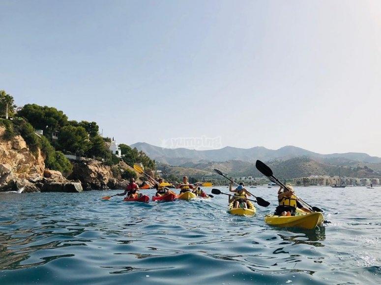 Descubriendo la Costa Tropical en kayak
