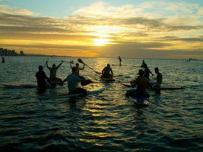 Ruta de Paddle Surf a Punta de la Mona y snorkel