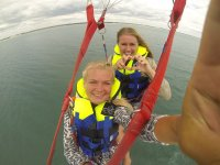 Parasailing lovers