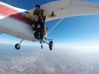 Salto tándem en paracaidas