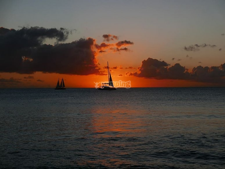 Magical sunsets from La Garrucha