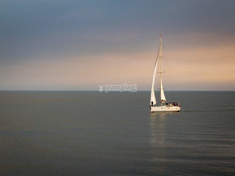 Sailing the calm waters of La Garrucha
