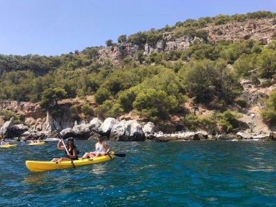 Excursión en kayak a Marina del Este y snorkel
