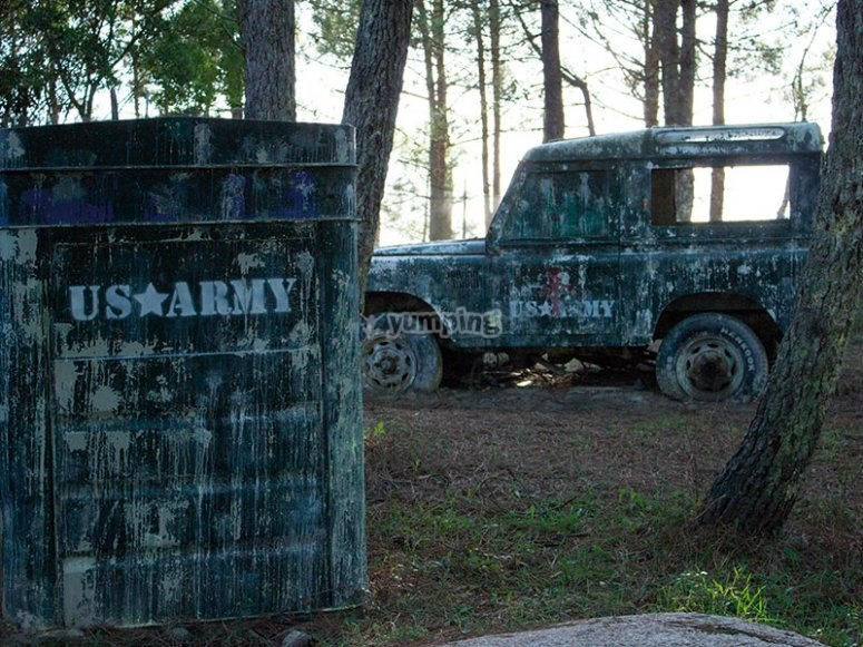 Military truck from the Vietnam area