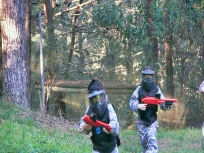 Paintball infantil con 100 bolas en O Grove