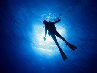加波角的潜水洗礼
