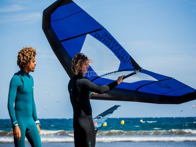 Wingsurfing Castelldefels