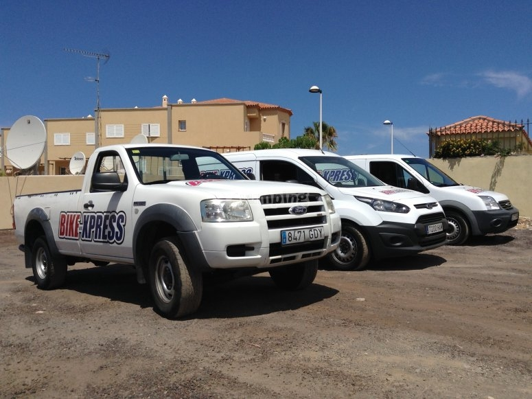 Our support trucks