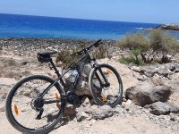 Bike rides along the remote beaches of Tenerife