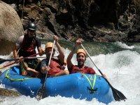 Piccola zattera di rafting