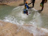 Saliendo del rio