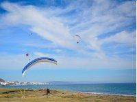 Aterrizaje junto al mar