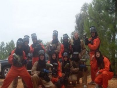 El Rompido Paintball Despedidas de Soltero
