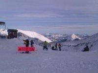 滑雪学校的一天,雪鞋行走车站