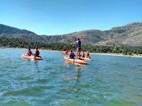 Juegos sobre los kayaks