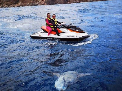 Percorso di jet ski di 30 minuti in Costa del Montgrí