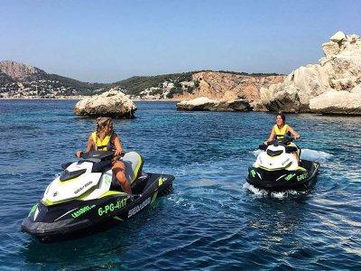 Noleggio di moto d'acqua a Platja d'Aro 15 min