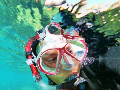 塔里法岛(Tarifa)岛附近的浮潜引导路线90分钟