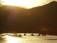 Sunset in the Segura