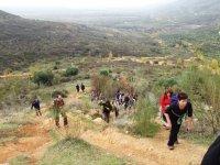 Caminatas por el monte como incentivo